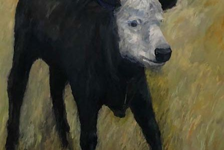 Livestock at Large (panel #3 of 5)