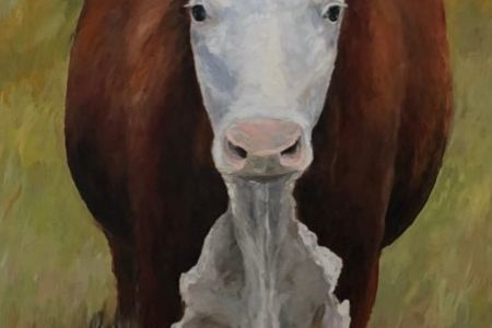 Livestock at Large (panel #4 of 5)